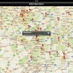 IKEA Filiale kann in der Google Maps Ansicht angezeigt werden