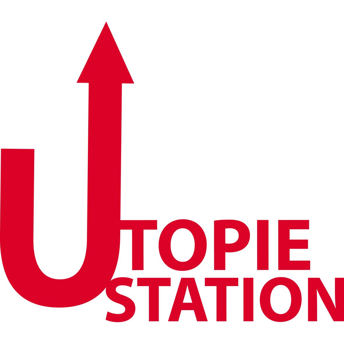 Logo der Reihe Utopie Station des NTM
