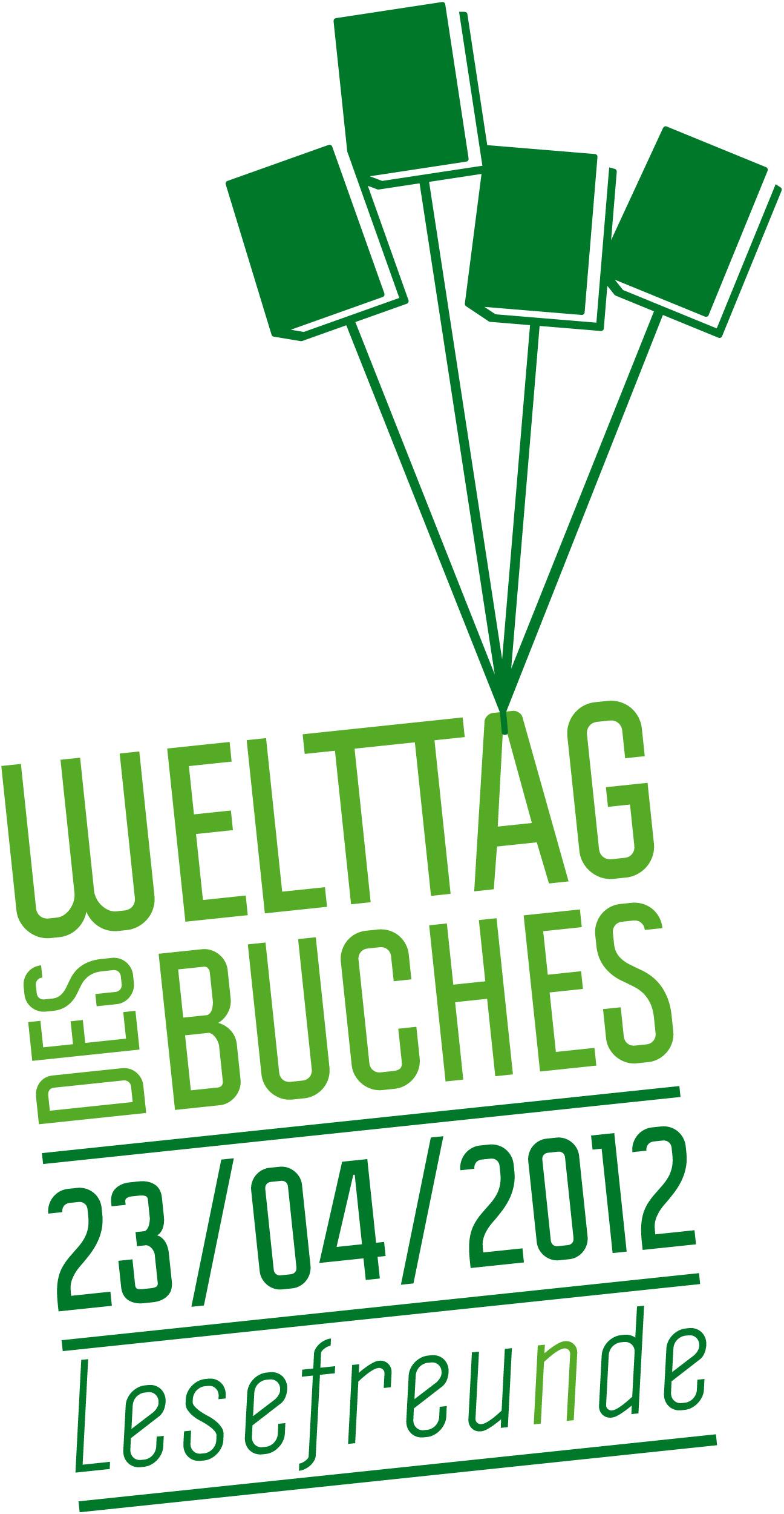 Welttag des Buches Logo 2012