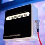 """Instaprint mit Geotag """"Breakfast HQ"""""""