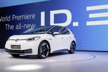 Premierenvorstellung des ID.3 auf der IAA 2019